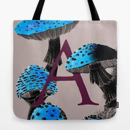 A is for Amanita muscaria Tote Bag