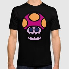Ghost Shroom Black MEDIUM Mens Fitted Tee