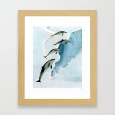 ACCLIMATIZE Framed Art Print