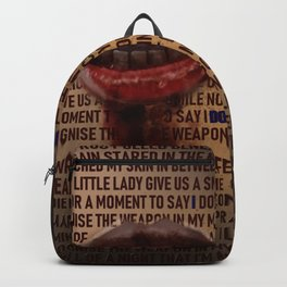 I Don't Owe You A Goddamn Thing (Nightmare) Backpack