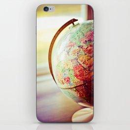 Globe  iPhone Skin