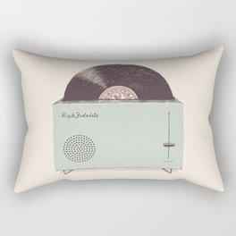 High Fidelity Toaster Rectangular Pillow
