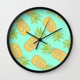 Pineapple of My Eye  Wall Clock