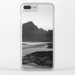 Mist Rolling in at Kynance Cove Clear iPhone Case