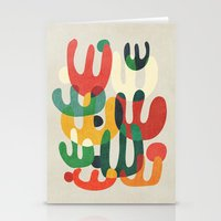 cactus Stationery Cards featuring Cactus by Picomodi