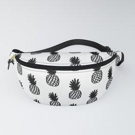 Black Pineapple Fanny Pack