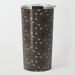 Horrible Patterns ~ Curves 80s Travel Mug