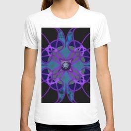 Flower in Purple T-shirt