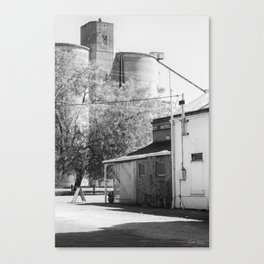 The Pub Across from the Silos Canvas Print