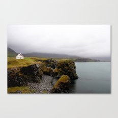 the edge of the world Canvas Print