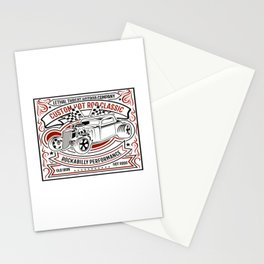 Classic Car Vintage Motorcar Classic Car Rider Stationery Cards