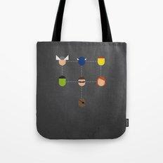 The advengers Capsules Tote Bag