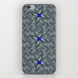 Making Waves Gray iPhone Skin