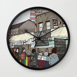 A stroll down Broadway Market Wall Clock