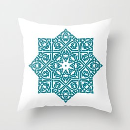 Celtic Knotwork Pattern Throw Pillow