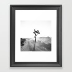 Rise out of the dust Framed Art Print