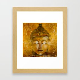 Buddha Art Framed Art Print
