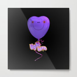 Light Love By THE-LEMON-WATCH Metal Print