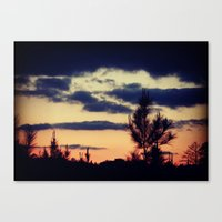 skyfall Canvas Prints featuring Skyfall by Magnolia Dreams Photography