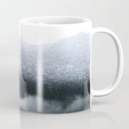 Low Hanging Fog in the Canadian Rockies Coffee Mug