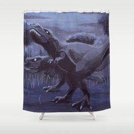 Hunting Party Shower Curtain