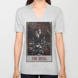 Hannibal Tarot - The Devil Unisex V-Neck