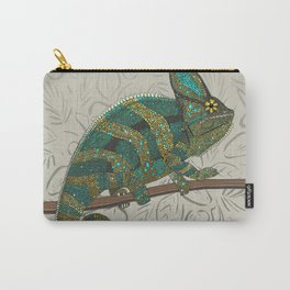 veiled chameleon stone Carry-All Pouch