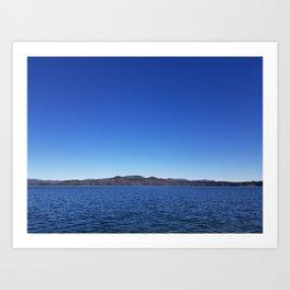 Lake jocassee Art Print