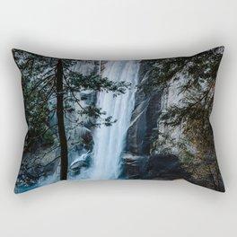 Vernal Falls from the Mist Trail - Yosemite Rectangular Pillow