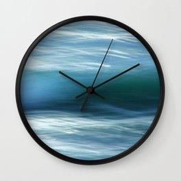 Abstract Waves ICM Wall Clock