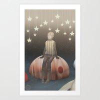 Jupiter Star Art Print