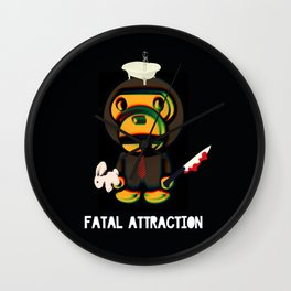 Fatal Attraction Wall Clock