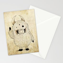 monstruo  Stationery Cards