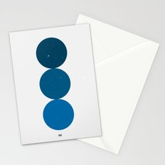 blue i 001 Stationery Cards