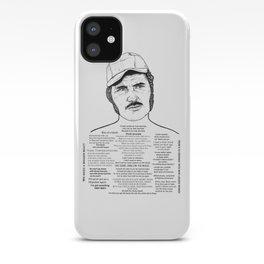Jaws Captain Quint Ink'd Series iPhone Case