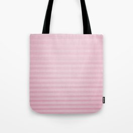 Vintage chic pink geometrical stripes pattern Tote Bag