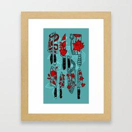 Final Cut (full colour) Framed Art Print