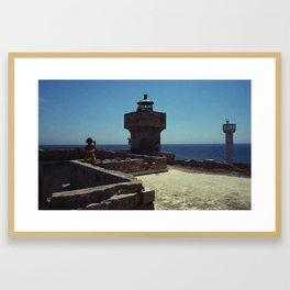 Observing the Horizon and Everything else around It Framed Art Print
