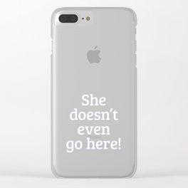 Mean Girls #14 – Go here Clear iPhone Case