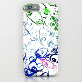 Twisted Paper iPhone Case
