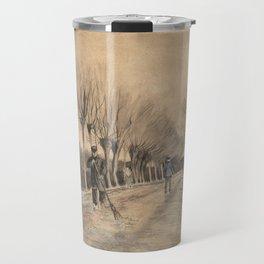 Road in Etten by Vincent van Gogh, 1881 Travel Mug