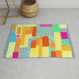 Amazing Dots and Colors Rug