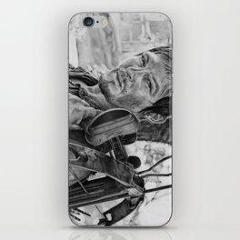Dayrl Dixon (Walking Dead) Portrait. iPhone Skin