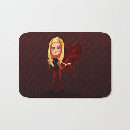 Buffy the Heart Slayer Bath Mat