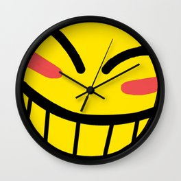 Cowboy Bebop - Hacker Smile Wall Clock