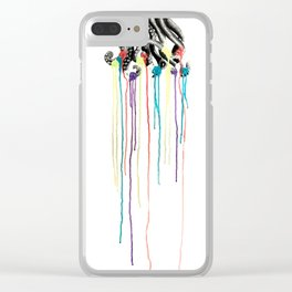Pseudomorph This! Clear iPhone Case