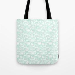 Delightful Domes - Mint Tote Bag
