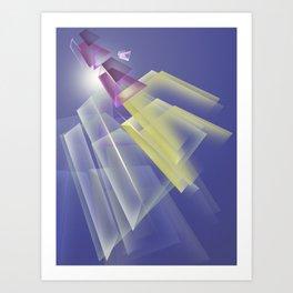 Poligonal 47 Art Print