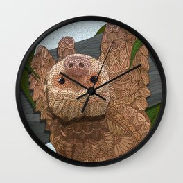 Hang in there buddy Wall Clock
