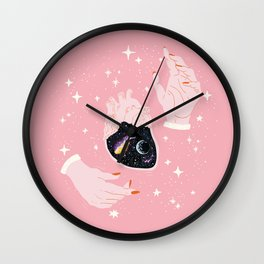 Deep In The Heart Wall Clock